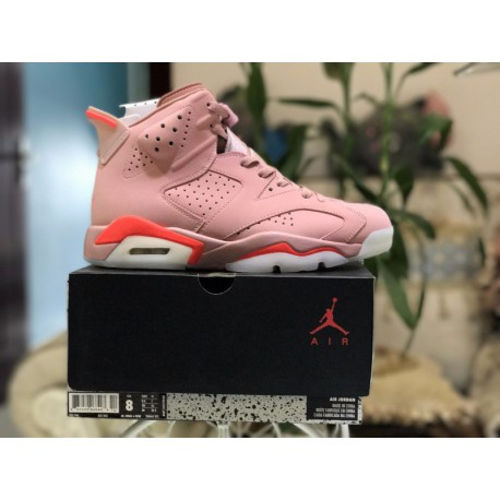 pretty nice 67018 cdbd0 Best Jordan 6 Replica,Air Jordan 6 Millennial Pink Where To Buy,Factory  Lacing Class Air Jordan 6 Pink Sao Powder ColorWay 3846