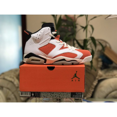 separation shoes 54064 d8680 Factory lacing class air jordan 6 gatorade white tigerlily colorway  384664-14