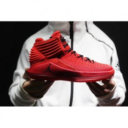 Jordan/ Air Jordan XXXII Aj32 Red 32 Generation Of Oriental Ted Front And Rear Separate Zoom AIR Air And Arch Independent Suppo