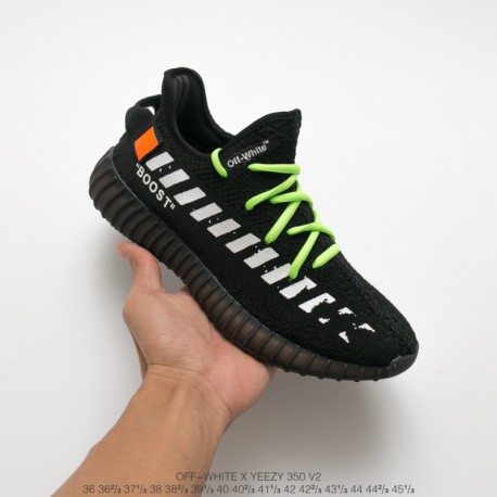 ADIDAS Original Virgil Abloh Designer Independent Bespoke OFF White X Adidas Yeezy 350V2 Boost Arrow Ultra Boos