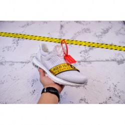 OFF WHITE X Ultra Boost 3.0 Uncaged Yellow Knit Sneaker The Hottest One Must Have A Seat Of The Te