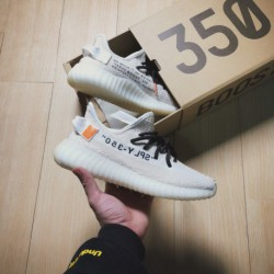 OFF-WHITE X Yeezy Boost 350 V2 Heavy Launch Crossover The Resulting OFF-WHITE Customer-driven Trend Is Also Spreading Rapidly A