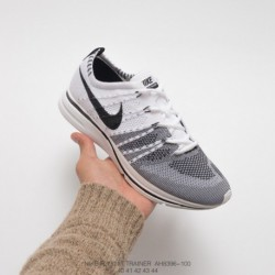 Ah8396-600 nike lab flyknit trainer yin and yang shoes first generation training flyknit racing shoes breathable mes