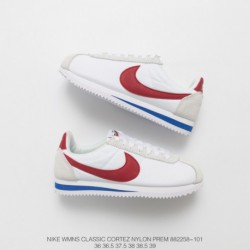 Cortez Womens Profile: Nike 2017 Deadstock Womens Nike CLASSIC Cortez LEATHER Retro Shoe