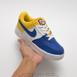 266-606 nike air force 1 low mini swoosh air force one classic skate shoes mini tick edition high quality upper material color