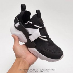 Ah6804-002 FSR Nike Air Huarache City Low Wallace 5th Generation Black And White Unmarketed Edition Original Box Original Cutti