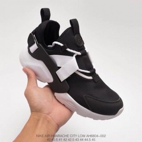 9a3bd6ab2803 Ah6804-002 FSR Nike Air Huarache City Low Wallace 5th Generation Black And  White Unmarketed