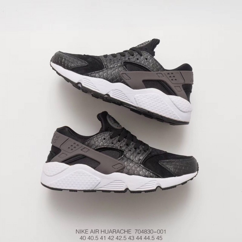 545668ae94600 ... 830-400 Nike Air Huarache Wallace Generation Vintage All-Match jogging  shoes premium pigskin ...