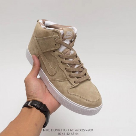 big sale b2cff 22401 Nike Dunk HIGH AC Retro Shoes Life Skate Shoes Full Pigskin Autumn And  Winter Classic Model