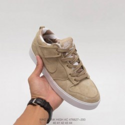 Nike Dunk Low AC Low Skate Board Shoes Full Pigskin Fall Winter Releas