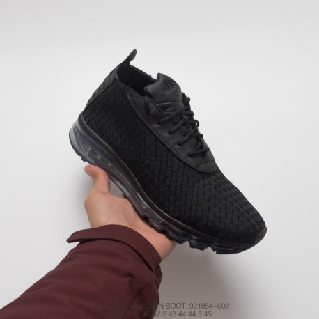wholesale dealer a411d 7662b 854-002 Nike Air Max WOVEN Boot Spring Summer Woven Men Total Air Trainers  Shoe