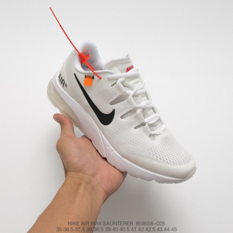 558-025 Nike OFF-WHITE X Nike Air Max Saunterer Beaverton Cregonusa2000 Tripartic Crossover Racing Shoes High Quality Air Sport