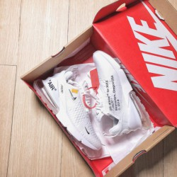 Ah8050-100 The Ten OFF WHITE X Nike Air Max 270 Perfect Release It Consists Of White And Black Joi