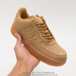 Nike-Air-Force-1-Super-High-Nike-Air-Force-1-Low-Wheat-Nike-Air-Force-1-AF1-Air-Force-One-Super-A-Wheat-Low-Leisure-Skate-shoes