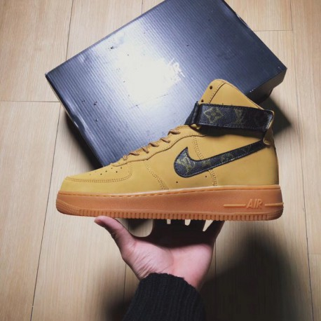 The First Nike Air Force 1,Nike Air Force 1 High Wheat,Air Force 1 Crossover Original First Air Force 1 Air Force One AF1 low