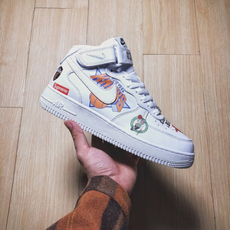 online store 812ca 84f4d Supreme Nike NBA Air Force 1,Supreme Nike Air Force 1 NBA,Nike Supreme x  NBA x AF1 Tripartite Crossover Supreme x NBA x Nike Ai