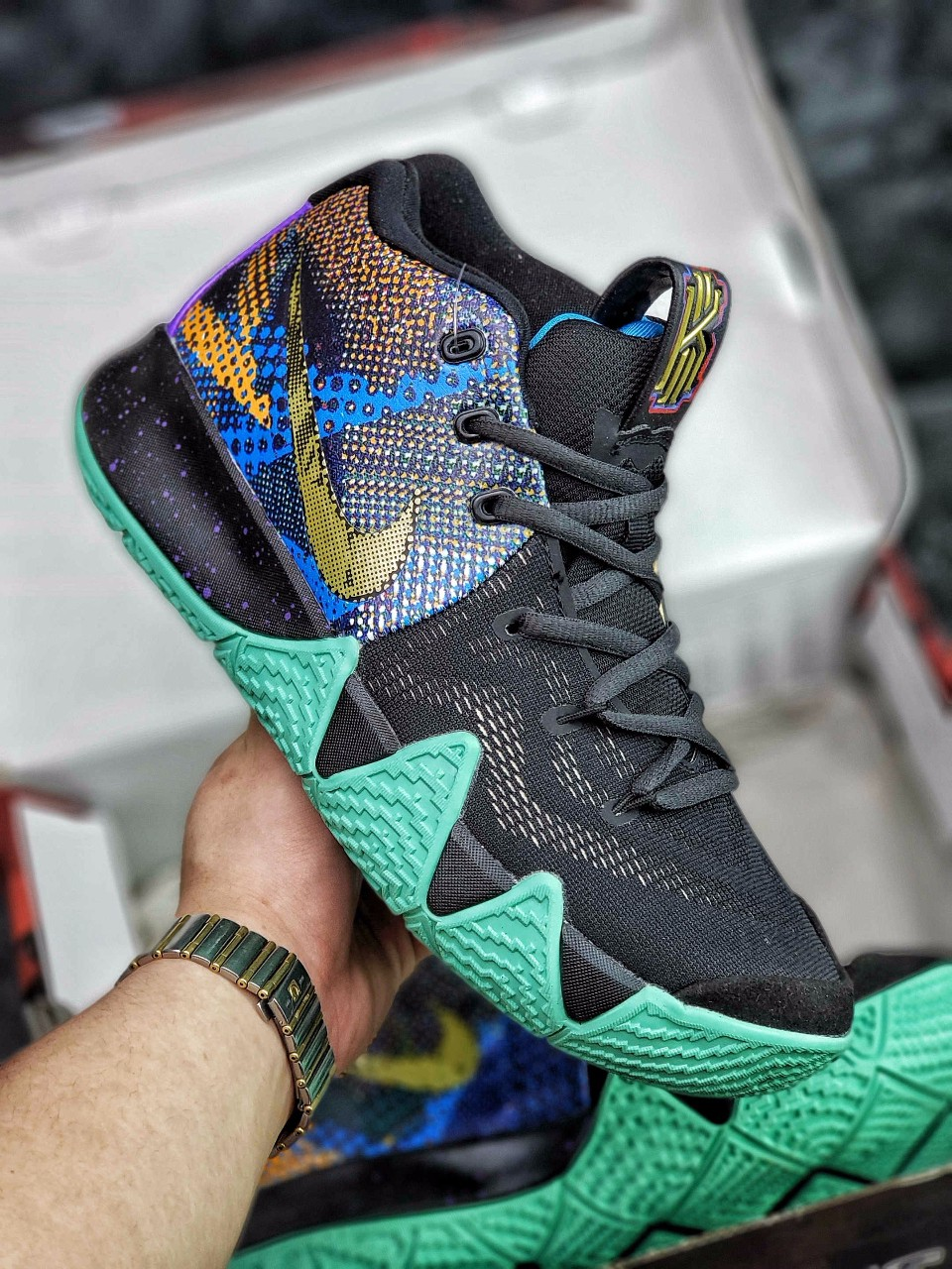 buy popular cec8c aac19 Nike Basketball Kyrie Irving,Nike Kyrie 4 EP Kerry Owen Air is not a  currency to be used as the main body of the embellishment