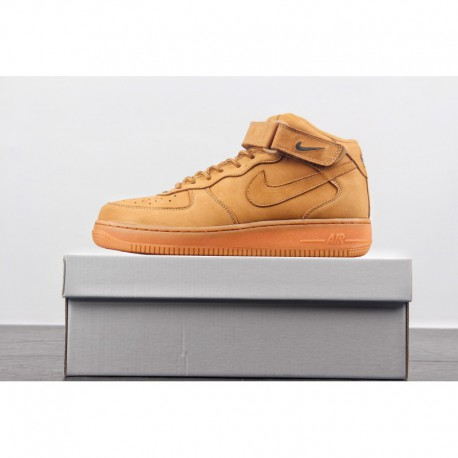 plus récent e73c7 f2648 Nike MID Air Force 1 Wheat,Nike Air Force 1 MID Wheat,Suede Upper Nike Air  Force 1 Mid AF1 Wheat Air Force Mid Wheat