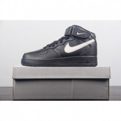 Nike-Air-Force-1-Low-Black-Leather-Nike-Air-Force-1-Low-White-Gum-Sole-Air-Force-1-Low-AF-1-Lite-Black-and-White-Original-Packa