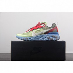 Release Version Of FSR Undercover Lead Brand Crossover UNDERCOVER X Nike Upcoming React Element 87 Reaction Element Translucent