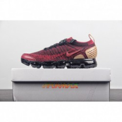 Leather Material Embellished Luxury Substance Nike Air VaporMax Flyknit 2.0 Nrg Second Generation Air Max All-Match jogging sho