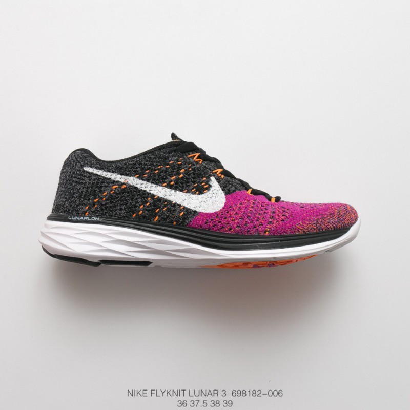 fce3a02be ... 182-501 Summer Special Nike Flyknit Lunar 3 The Three Generations Of  Rainers Shoes Are ...