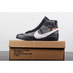 Aa3832-001 No. 3 Just Released Original OFF-WHITE X Nike Blazer Mid Grim Reeper