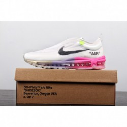 Tennis star serena williams serena limited edition off-white X Nike Air Max 97 Queen Vintage All-Match air jogging shoes ow whi