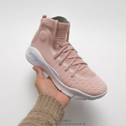 Stephen-Curry-New-Basketball-Shoes-Under-ArmourUnder-Armour-Curry-4-Powder-White-Curry-fourth-generation-super-popular-signatur