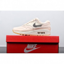 Nike-Air-Max-One-Pink-Fresh-Pale-Pink-Girls-Exclusive-FSR-Nike-Womens-Air-Max-1-PRM-Guava-Ice-All-match-Vintage-Air-Jogging-Sho