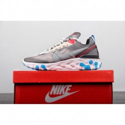 Colorway Is More Cool Instagram Hot Full Palm React Cushioning Is Very Powerful Nike Upcoming React Element 8