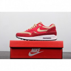 UNISEX FSR Japan's Famous Sneaker Shop Crossover Atmos Xnike Air Max 1 Premium Classic Vintage Air All-Match jogging shoe