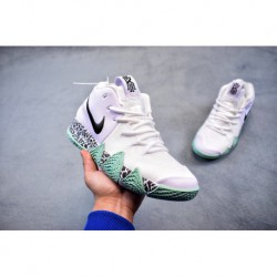 Nike 4 EP Irving 4th Generation High Basketball-shoes FSR Knitting Upper Hard Rubber Outsole Actual Combat Basketball-Shoe