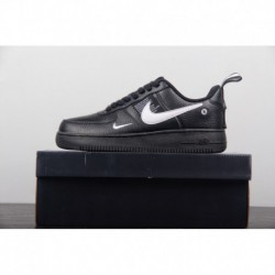 Nike-Air-Force-1-Lv8-Utility-Nike-Air-Force-1-07-Lv8-Utility-Black-FSR-Lichee-Pattern-Seat-Strap-Design-Nike-Air-Force-1-07-LV