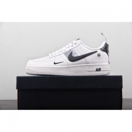 FSR Lichee Pattern Seat Strap Design ️ Nike Air Force 1 07 LV8 Utility Pack Air Force One Classic All-Match skate shoes black a