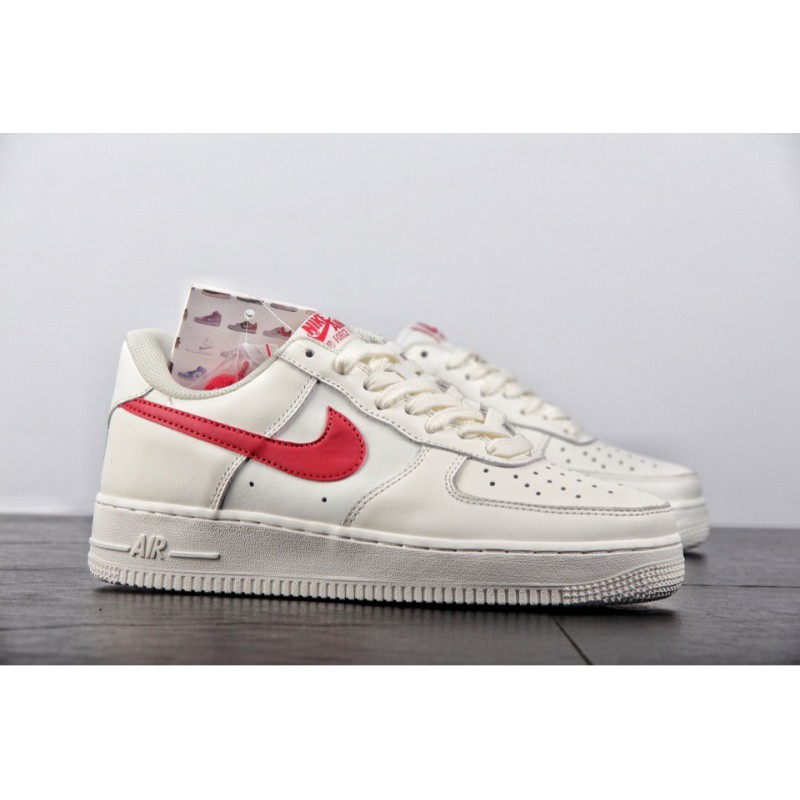 472a66999a ... Original Release Is Better Than Any Previous Air Force 1 Low Original  Retro Milk White Red ...