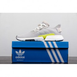 Adidas Boost POD.S3.1 Off-white Gravity Shoes Factory Lacing Raw Material Synchronization Process Factory Lacing BASF Material