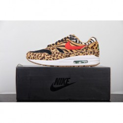 Premium FSR Mens ️ Zoo Theme Japanese Trend Shop Atmos X Nike Air Max 1 DLX Animal Pack 2.0 Vintage Air Jogging Shoes African L