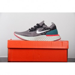 FSR ️ Nike Epic React Flyknit Pro Cotton Granules Knitting Ultra Lightweight Jogging Shoes Nude Pink Spotted Black Aj7286-66