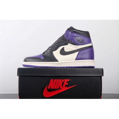 cheaper 70260 05e51 Aj1 Pass The Torch,Air Jordan 1 Court Purple Toe for Factory Lacing leather  original Cardboard Mould Latest correction 18 lates