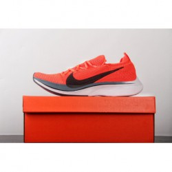 UNISEX Premium Back To Elasticity ️ Nike Vaporfly Flyknit 4% Flyknit Marathon Super Racing Shoes Orange Bred Off-White aj3857-6