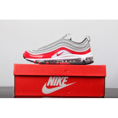 premium selection b6d61 d47a5 Nike Air Max 97 Silver Bullet Trainers,Nike The Ten Air Max 97,826-011 The  first net of the whole network ️ Pure perfect shoes