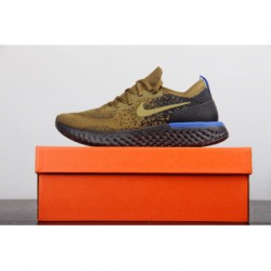 New colorway olive green official new technology professional racing shoes original 2018nike/ epic react flyknit pro granule ne