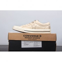 Play Reversal American Fashion Brand Crossover Midnight Studios X Converse One Star OX Low Vulcanize Duck Skate Shoes Flip Off-