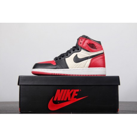 online store 7d54c 33b37 Aj1 Bred Toe 2018,Original Outsole Air Jordan 1 AJ1 Bred Toe GS Womens  Replenishment, happy, good stuff, not much