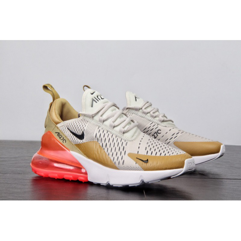 best sneakers 1197a 6c4d9 ... Nike air max 270 new colorway seat half palm air mesh jogging shoes  beauty powder ah6789 ...