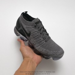 843-006 From Original Nike Air VaporMax Flyknit 2.0 W Second Generation Air Max All-match Jogging Shoes Imported Knitting Machi