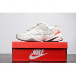 Reborn In Vintage Trends Nike Air Monarch The M2k Tekno Vintage Trend All-Match travel dad sneaker off-White orange grey ao3108