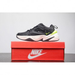 Reborn In The Trend Of Vintage Nike Air Monarch The M2k Tekno Vintage Trend All-Match tourism dad sneaker black and white green