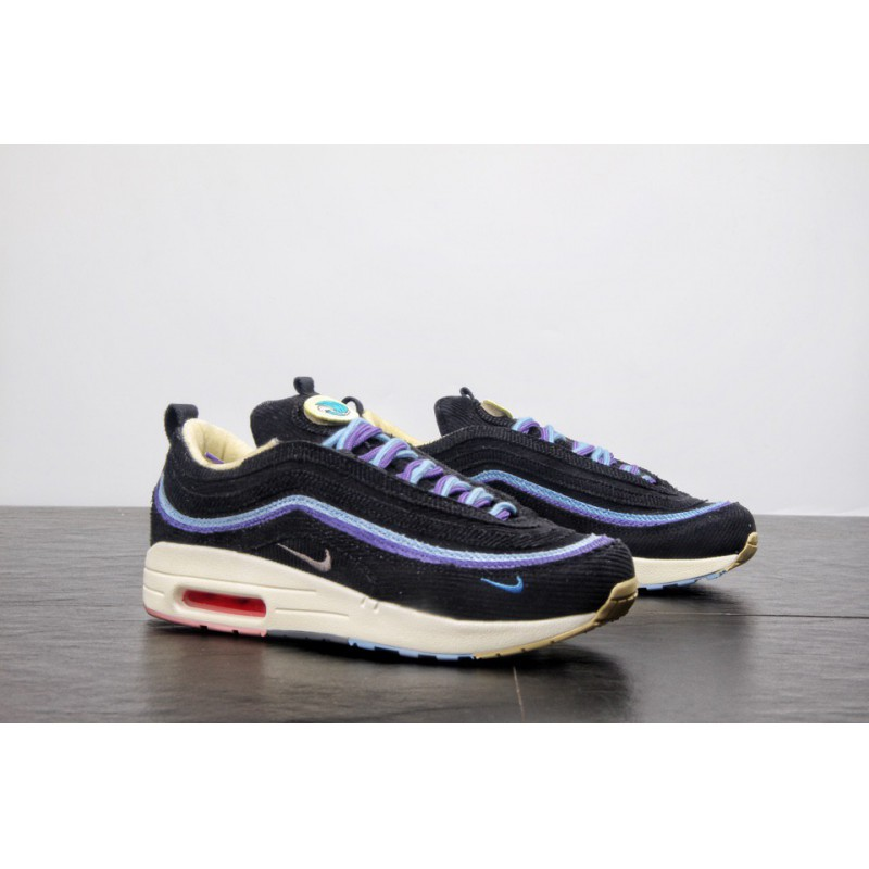 Men's Sean Wotherspoon x Nike Air Max 97 1 Hybrid White Red